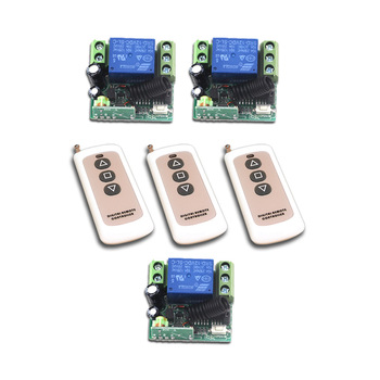 New Style DC12V Mini RF Wireless Remote Control Switch 3pcs Transmitter + Remote Control 3pcs Receiver Safe Low Price
