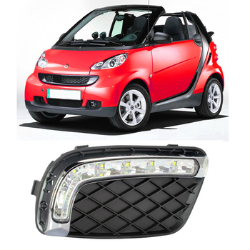 Car DRL For Mercedes-Benz smart fortwo 2012~LED Daytime Running Lights bar daylight super bright auto lamp for car drl 12V