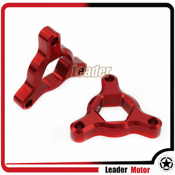 For Kawasaki ZX636R Z1000 ER-6N NINJA 650R ER6N Motorcycle Accessories 22mm Suspension Fork Preload Adjusters Red