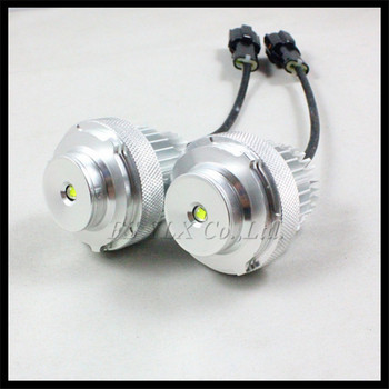Car LED marker angel eyes for BMW E60 E61 LCI 10W LED Angel Eyes Bulb for BMW E60 E61 Halogen Headlight Non-projector