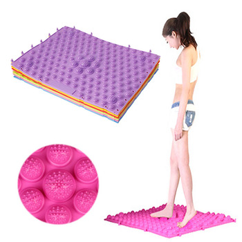 29*40cm Pebble Toe Pressure Plate Foot Massage Pad Cover Shiatsu Mat Yoga New