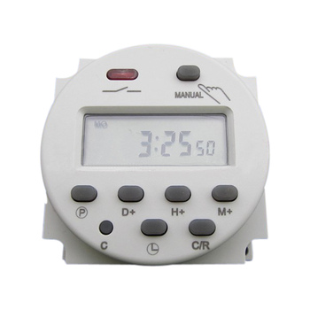 AC220V-240V 16A LCD Digital Programmable Control Power Timer Time Switch Microcomputer chip advertising light boxes