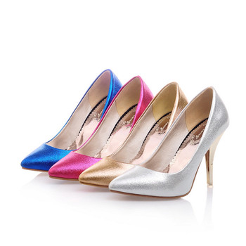 OL Italian high heels Shoes Sandals Stilettos Designer Single Shoes Plus size 34-47 Womens Pointy Toe Elegant Pumps