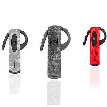 Brand EX02 Stereo Bluetooth Video Games Headset with Black/Red/Desert Camouflage Faceplates for Sony Play Station 3 / PS3