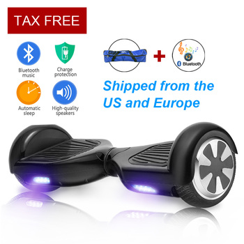 Original mini smart self balancing scooter electric 2 two wheel hoverboard skateboard 6.5 inch low price hoover board