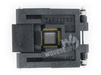 QFP44 TQFP44 FQFP44 PQFP44 IC51-0444-467 Yamaichi QFP IC Test Burn-in Socket Programming Adapter 0.8mm Pitch