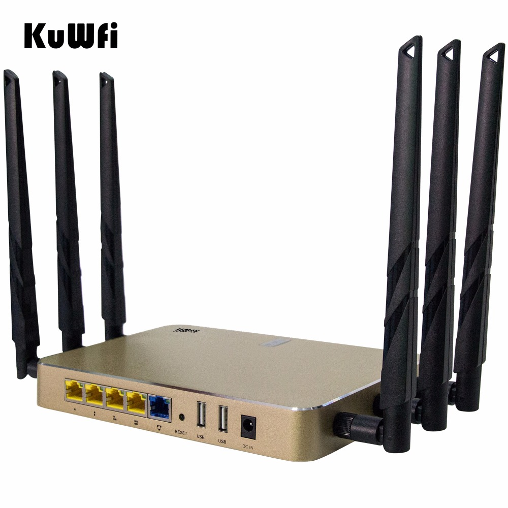 802.11 AC 1200Mbps High Power Enterprise Gigabat Wireless Router Through Wall 2.4G/5G Dual Band Wireless AP/Gateway/Repeater