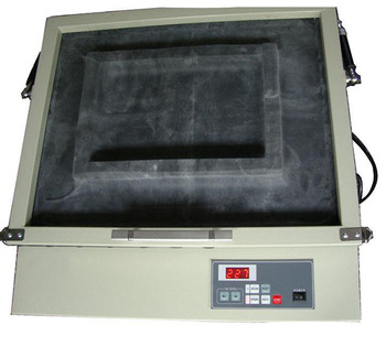 Tabletop exposure machine with vacuum