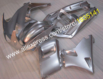 For Kawasaki Ninja ZZR400 ABS Cowling part 1993-2003 ZZR 400 93-03 ZZR-400 Fairing full silver set (Injection molding)