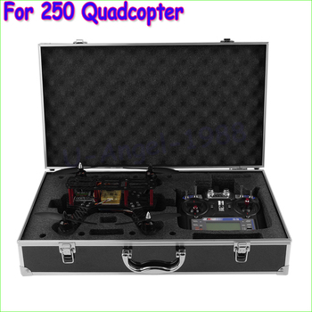 1pcs New Portable Aluminum Carrying Case Box Suitcase For QAV250 Mini 250 Quadcopter Wholesale