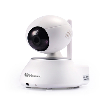 Homtrol 2 MP Image Lens enhance Night Vision imaging Smart Home Wi-Fi IP Camera that support 2 way talk and max 128GB TF card