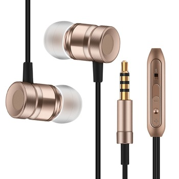 Professional In-Ear Earphone Metal Heavy Bass Sound Quality Music Earpiece for Xiaomi Redmi Note 4X fone de ouvido With Mic