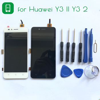For Huawei Y3 II Y3 2 Y3II LCD Display+Touch Screen with Tools Glass Panel Accessories Replacement For Huawei Y3 II Y3 2 Y3II