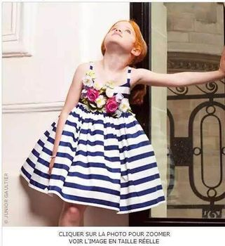 Princess Dress Girl 2016 Designer Girls Summer Dress Kids Costume Stripe Handmade Flowers Kids Dresses for Girls Clothes
