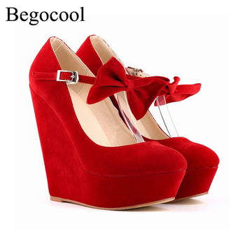 Fashion Begocool shoes women high heels designer wedges for pumps BGC-11-05001