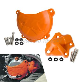 Clutch Cover Protection Cover Water Pump Cover Protector for KTM 250 EXC-F-2016