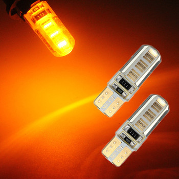 T10 W5W 194 COB Canbus LED 12SMD Auto Wedge Side Interior License Plate Light Bulb Car Light Clearance Lamp Car Light Sourse 12V
