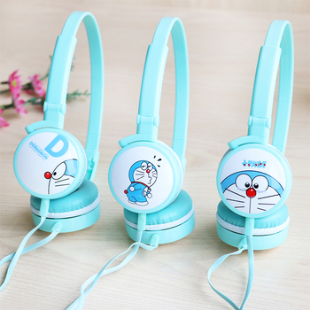 Korean version of the cartoon KT Ding Dong cat headset mobile phone headset cute with wheat bass bass creative