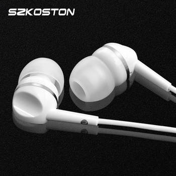 Universal 3.5mm Earphone Metal Super Clear Bass Hot Portable Earphones Noise Cancelling Headset With Mic For Xiaomi iPhone MP3/4