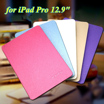 8 Colors Ultra Thin Slim Cover for iPad Pro 12.9 Inch Flip Book Cover Tablet Stand Smart Case for Apple iPad Pro