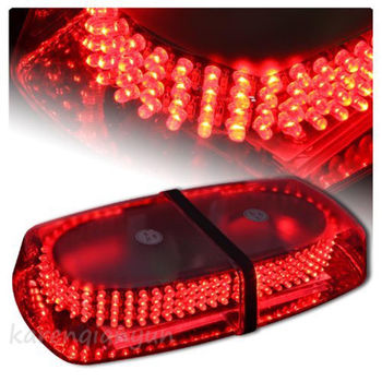 Super Bright 12V 240 LEDs Car Police Top Roof Emergency Beacon Warning Light Waterproof Auto Flash Strobe Light Bar Red Colors
