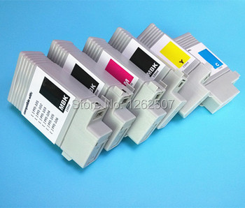 130ml Dye ink Compatible Cartridge For Canon iPF 6000s PFI-101 Full ink carts 8colors per set