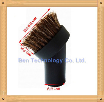To Europe ! 32mm Brush Round Nozzle with Bristles for Karcher Vacuum Cleaner A2101 WD2.200 A1000 etc.