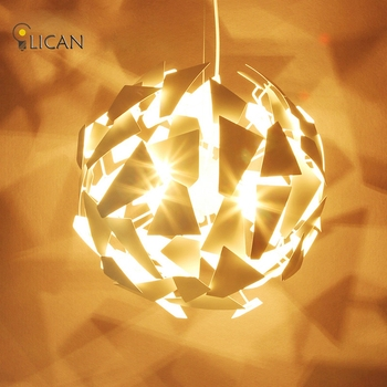 LICAN Modern DIY Pendant Lights White Suspension pendant lamp For Living room scandinavian Lights Lamparas de arana luces