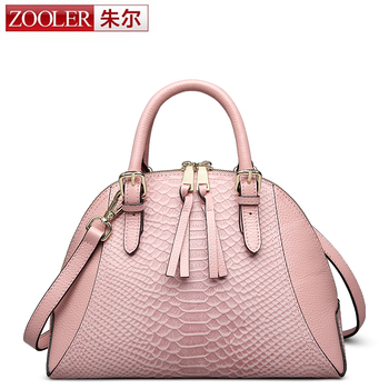 ZOOLER designed genuine leather bag women messenger bags luxury handbags women bags designer bolsa feminina for lady#CJ-6918