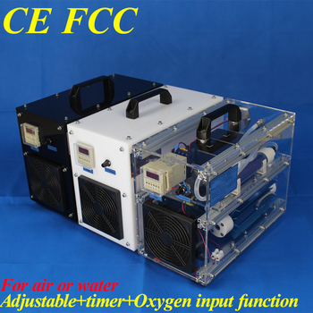 CE EMC LVD FCC commercial ozone unit with timer