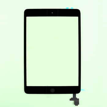 Original Touch Screen Digitizer with Home Button Flex and Camera Holder+IC with Adhesive sticker For iPad Mini 1&2