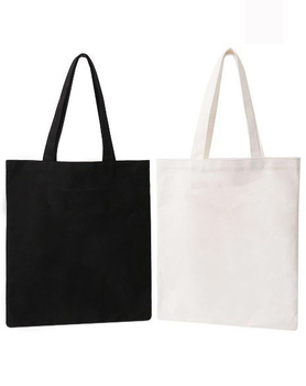 10 pieces/lot  eco-friendly open pocket casual canvas tote bags accept customized logo/size/color