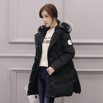 2017 New Winter Warm Clothes for Pregnant Women Soft Fur Collar Pockets Padded Coats Jackets for Pregnancy Maternity Coat Jacket