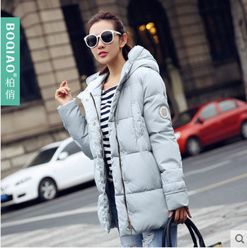 Winter Jacket Women Nice New Style Parkas Overcoat Brand Fashion Hooded Plus Size Cotton Padded Warm Jackets And Coats AW1168