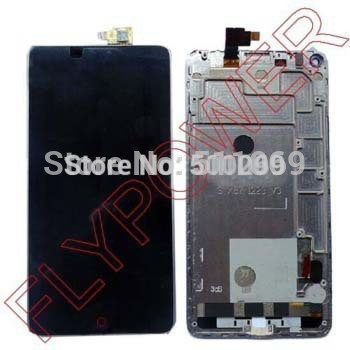 New Original Black LCD Screen Display + Touch Digitizer +Frame For ZTE Nubia Z5s NX503A Assembly by