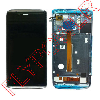 LCD Display touch Screen digitizer with frame For Alcatel One Touch idol alpha OT6032 6032 Assembly By
