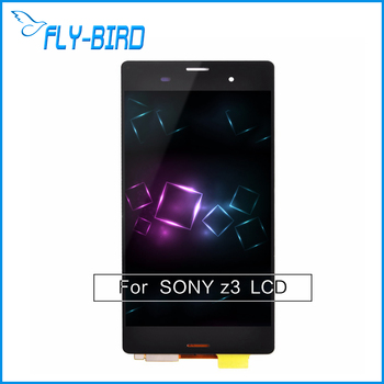 For Sony Xperia Z3 LCD Digitizer Display With Touch Screen Assembly + Monochrome black