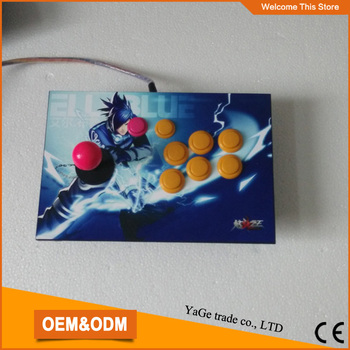Arcade joystick controller 8 bottons new Joystick Consoles with Little Elf 3 game pcb board 540 in 1