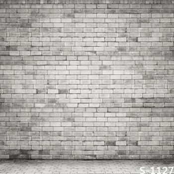 6.5x10ft photo studio background vinyl print for photo studio vintage grey brick wall photography backdrops S-1127