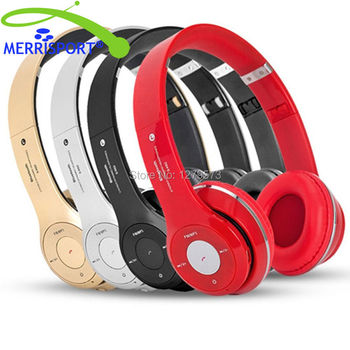 MERRISPORT Wireless Bluetooth Headphones Over-ear Stereo Wireless Headsets With Mic For iPhone Nokia HTC Samsung LG Moto Tablet