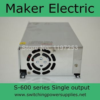 High efficiency S-600-48 48v 12A 600W Single Output Switching power supply