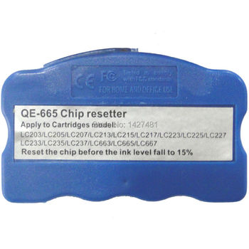 Chip resetter For Brother LC209 LC205 For Brother MFC-J4320DW/J4420DW/J4620DW/J5520DW/ J5620DW/J5720DW