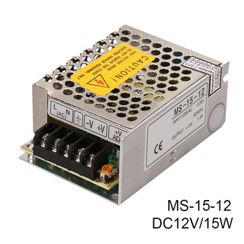 MS-15-12V Switching Power Supply Adapter 15W Small Single-group Monitoring LED Power Supply DC Voltage Regulator
