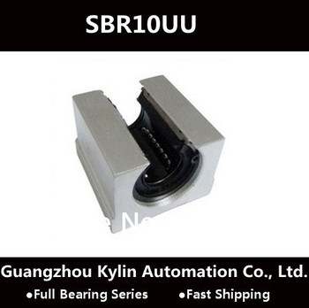 Price! 4 pcs SBR10UU Linear Bearing 10mm Open Linear Bearing Slide block , 10mm CNC Router linear slide