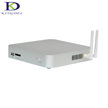 2017 Quad Core Fanless Mini Computer Intel Celeron N3150 Braswell Industrial Mini PC Optical 2 RS232 Windows 10 HTPC