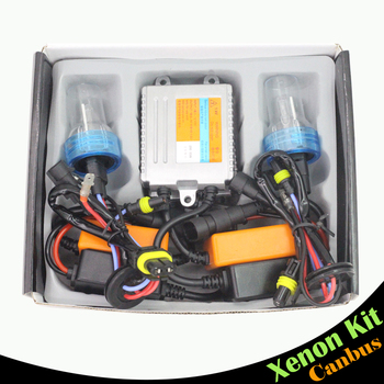 Cawanerl 880 881 55W Canbus Ballast Bulb HID Kit AC Xenon Headlight Error Free 3000K-8000K Car Headlamp Fog Light DRL