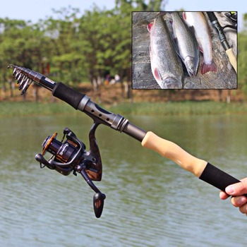 New 2.1m 2.4m 2.7m Lure Fishing Reels Spinning Reel Fishing Tackle Rods Fishing Rod And Reel Ocean Rod Rock