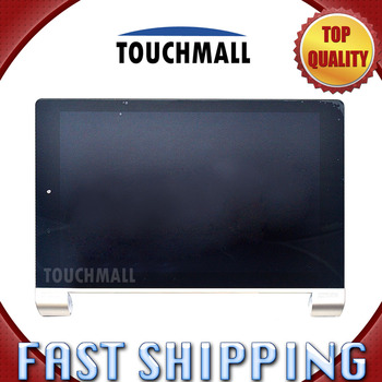For Lenovo Yoga 10 B8080 B8080-F B8080-H Replacement New LCD Display Touch Screen with White Gold Frame Assembly