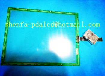 Touchscreen 12.1 inch touch for N010-0551-T242 7wires Injection molding machine touch screen panel glass ,shenfa