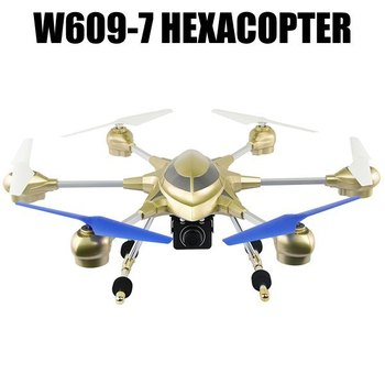 W609 - 7 5.8G FPV Pathfinder 2 6 Axis Gyro 4.5CH 2.4G RC Hexacopter with 2.0MP HD Camera - US Plug